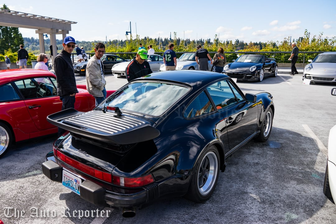Porsche Display Wows Crowds At Carillon Point For Charity