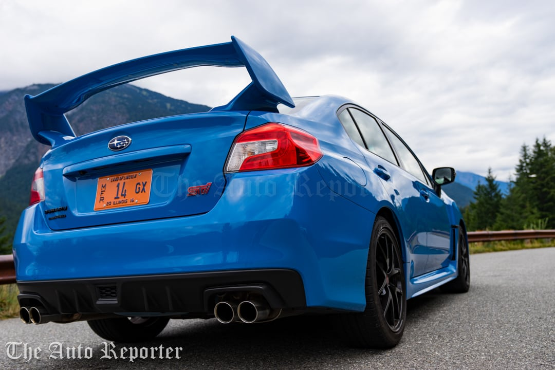 2016 subaru wrx sti review the auto reporter. Black Bedroom Furniture Sets. Home Design Ideas