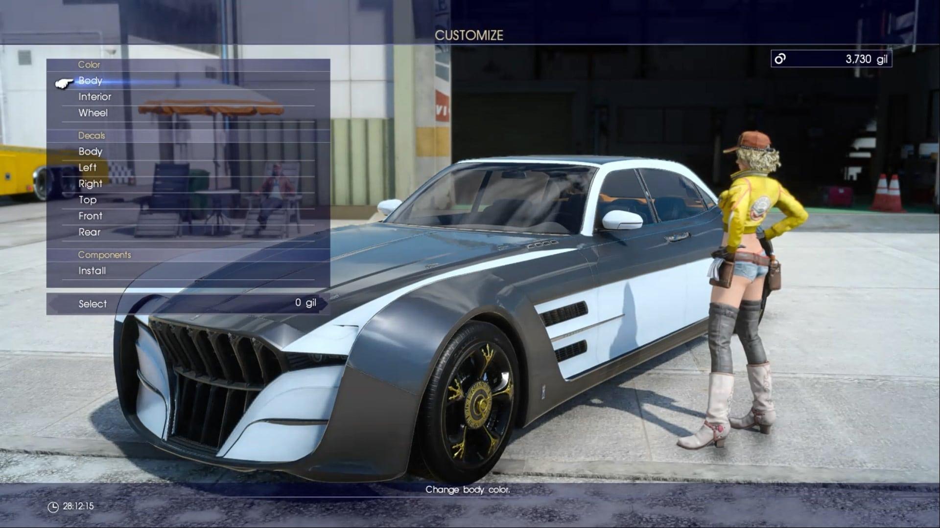 Nissan Black Friday >> Final Fantasy XV: Finally, a Final Fantasy for car fiends