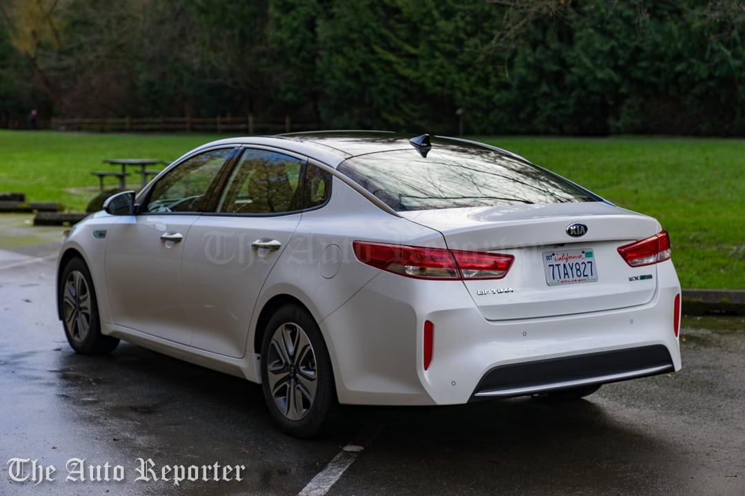 2017 Kia Optima Hybrid Ex Review The Auto Reporter