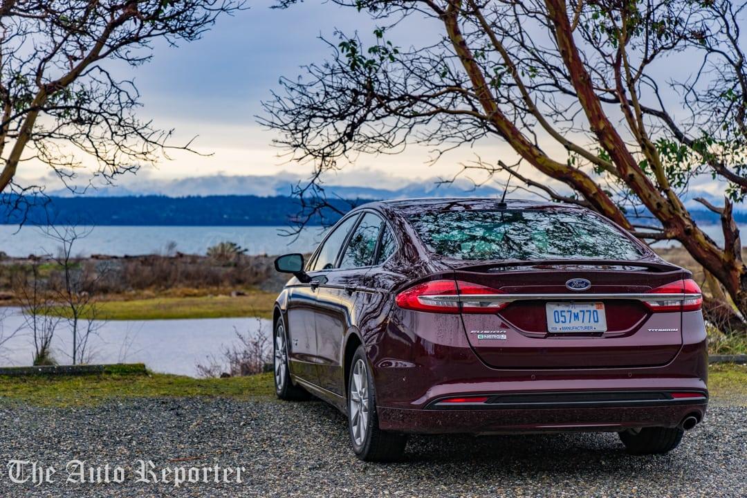 A Burgundy Velvet Green Machine 2017 Ford Fusion Energi Review