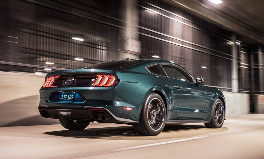 """Celebrating the 50th anniversary of iconic movie """"Bullitt"""" and its fan-favorite San Francisco car chase, Ford introduces the new cool and powerful 2019 Mustang Bullitt."""