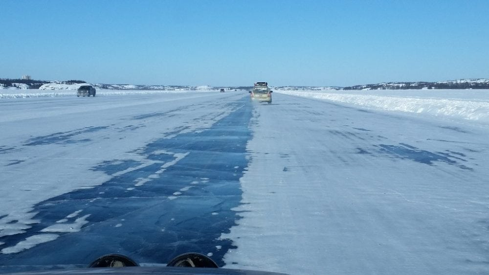 The ice highway, again.