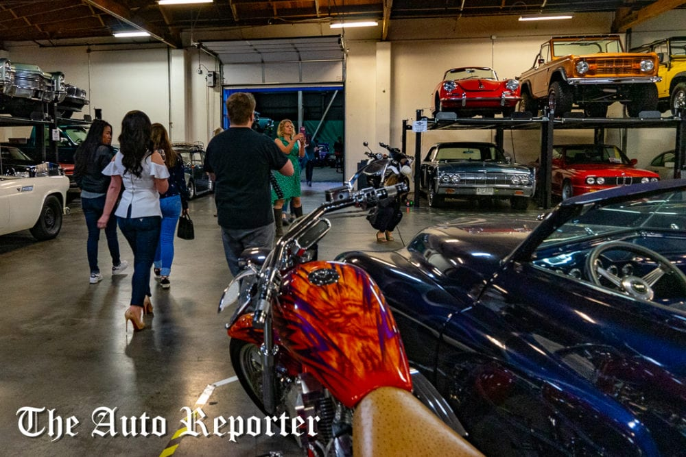 The Shop tour during Beauty & Key's launch at The Shop - The Auto Reporter